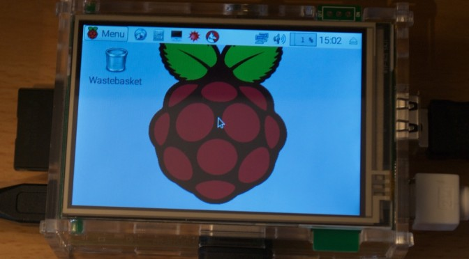 Raspberry Pi with LCD Screen